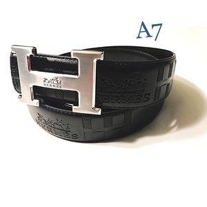 Accessories - Hermes Silver Belt